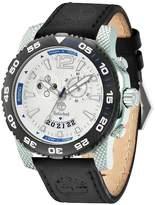 Timberland Men's Hydroclimb Leather Strap Watch, 46mm