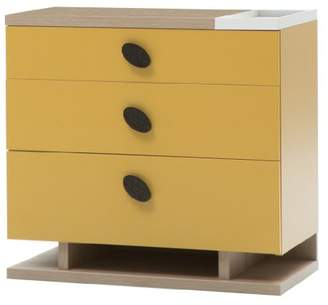 Camilla And Marc New Joy New Land Children Chest of Drawers, 76 x 80 x 42 cm, Yellow