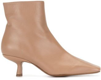 BY FAR Lange leather booties