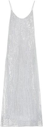 Oseree Exclusive to Mytheresa Lumiere sequined maxi dress