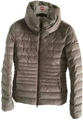 Colmar Beige Cotton Coat for Women