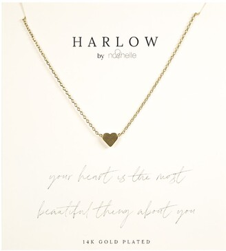 Nashelle Simple Heart Boxed Necklace