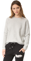Zoe Karssen Distressed Sweatshirt