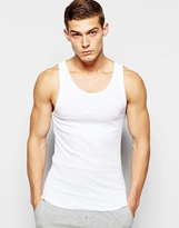 Bonds Chesty Vest In Muscle Fit - White
