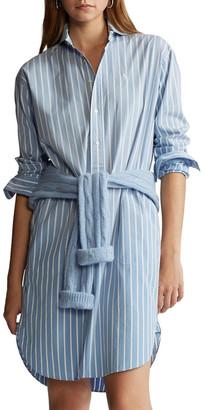 Polo Ralph Lauren Striped Cotton Shirtdress