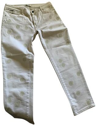 Maison Scotch Beige Cotton - elasthane Jeans for Women