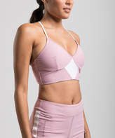 Blush B-Lush Amari Active Women's Bras Blush - Blush & White Reveal Racerback Sports Bra