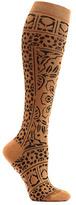 Ozone Women's Floral Mosaic Knee High Socks