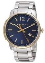Coach Bleecker Slim Dial Men's Stainless Steel Watch 14602342