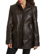 JCPenney Excelled Leather Excelled Hooded Anorak Jacket