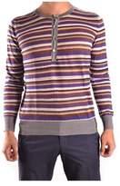 Mauro Grifoni Men's Multicolor Cotton Sweater.