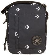 Converse New Mens Black Chevron Polyester Cross Body Bag Bags