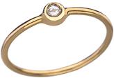 Maya Brenner White Diamond Stacking Ring