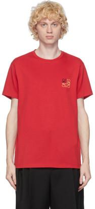 Loewe Red Anagram T-Shirt