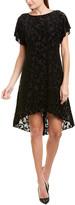 Adrianna Papell Velvet A-Line Dress