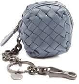 Bottega Veneta Intrecciato leather purse key ring