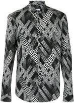Versace printed shirt - men - Cotton/Spandex/Elastane - 38