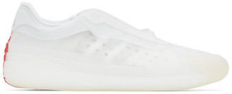 adidas White Prada Edition AandP Luna Rossa 21 Sneakers