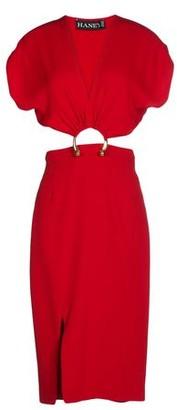 HANEY Knee-length dress