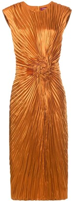 Sies Marjan Pleated Swirl Dress