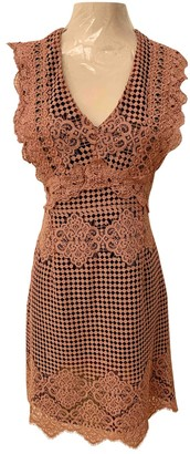 Pinko Pink Lace Dress for Women