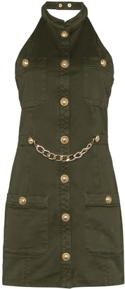 Balmain Military-Style Mini Dress