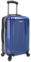 "Traveler's Choice U.S. Traveler 22"" USB Port EZ-Charge Carry-On Spinner Luggage"