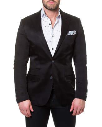 Maceoo Men's Elegance Wave Shaped-Fit Blazer