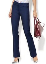 New York & Co. 7th Avenue Design Studio Pant - Modern - Leaner Fit - Straight Leg - Navy - Tall