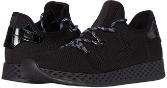 J/Slides Ophelia (Black Knit) Women's Shoes