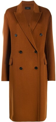 Joseph Double-Breasted Cashmere Coat