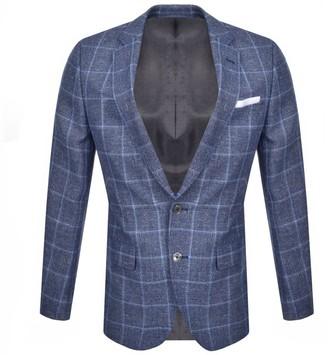 Boss Business BOSS Hutsons 4 Blazer Jacket Blue