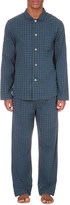 Derek Rose braemar cotton pyjama set