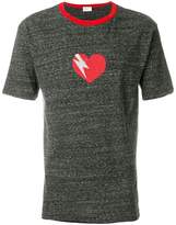 Saint Laurent heart print T-shirt