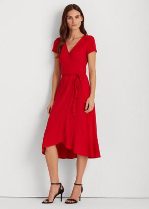 Ralph Lauren Matte Jersey Dress