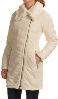 Prana Diva Long Jacket - Sherpa Lining (For Women)