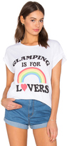 Junk Food Clothing Glamping Is For Lovers Tee
