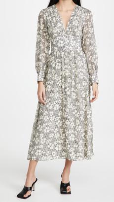 Jason Wu V Neck Ruched Dress