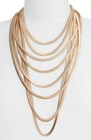 Adia Kibur Women's Flat Chain Layer Necklace