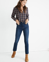 Madewell Petite Stovepipe Jeans in Fairdale Wash: TENCEL Denim Edition