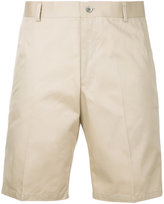 Thom Browne Chino Short In Khaki Cotton Twill