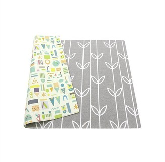 Baby Care Playmat Sea Petals Grey Medium