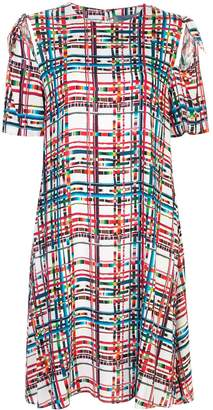 Jonathan Cohen geometric flared dress