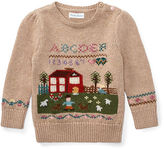 Ralph Lauren Girl Schoolhouse Cotton Sweater