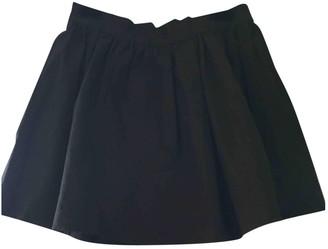 Vanessa Bruno Black Cotton Skirt for Women