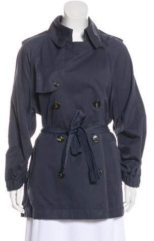 Lanvin Long Sleeve Trench Coat