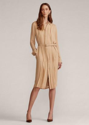 Ralph Lauren Lauray Silk Georgette Dress