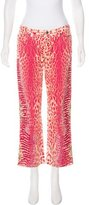 Roberto Cavalli Mid-Rise Wide-Leg Jeans w/ Tags