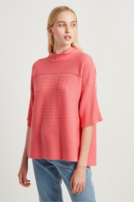 French Connection Lois Mozart High Neck Jumper