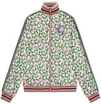 Gucci Doraemon x technical jersey jacket